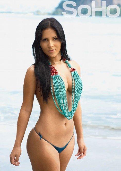 Claudia de guatemala bien cogida por un toro - 3 6