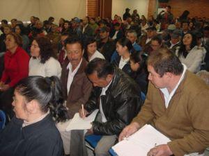 Mas de 600 personas decidieron sobre malla vial en la UPZ 82 Patio Bonito