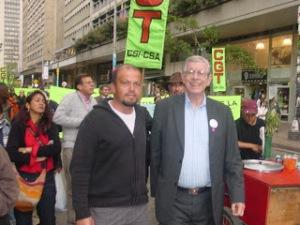 Francisco Castañeda y Yezid García Abello