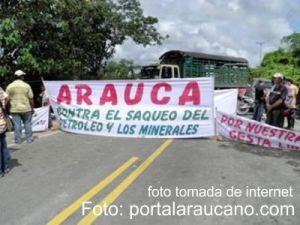 Protestas en Arauca