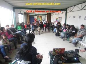 Conversatorio sobre géneros en el parque La Amistad de Kennedy - Bogotá