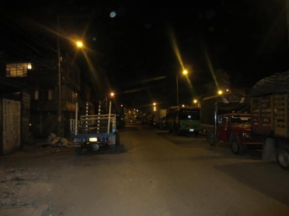 En la noche el parqueadero según habitantes, se convierte en un lugar inseguro ya que al parecer la delincuencia se esconde dentro de los vehículos para sorprender a sus víctimas