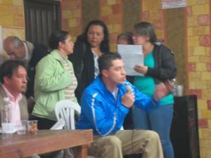 Edil Alejandro Torres Cárdenas interviene ante asamblea del CPL