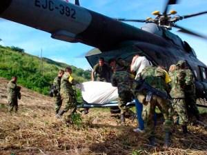 Militares asesinados por las farc