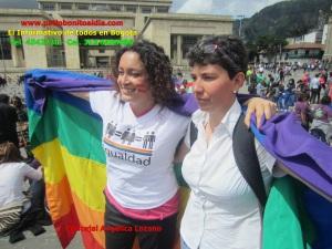 """""""Los derechos de la comunidad LGBTI no depende de unos políticos de turno"""" Angélica Lozano"""