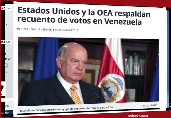 Los medios colombianos, como en este caso el diario El Tiempo, se prestan para la guerra psicológica contra el pueblo hermano de Venezuela.