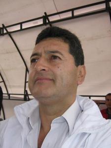 Luis Alberto Vanegas del departamento de D.D.H.H. y Solidaridad del Comité Ejecutivo Nacional de la Central Unitaria de Trabajadores de Colombia CUT