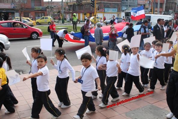 Marcha 9 de Abril en Bogotá - Niños