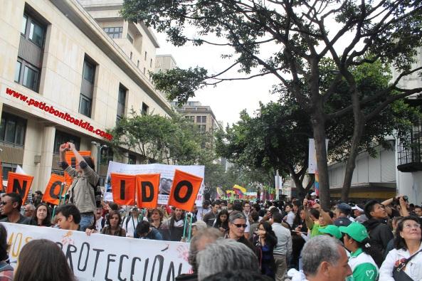 Marcha 9 de Abril en Bogotá y Colombia