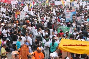 Marcha del 9 de Abril en Bogotá