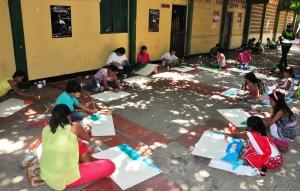 Pintura infantil en Valledupar