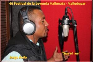 """El cantante vallenato Jorge Ávila interpretará """"Soy El Rey"""""""