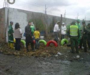 Ciudad Limpia en El Amparo