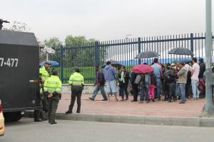 Desplazados en Bogotá