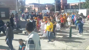 Desfile y comparsas colegio hernando duran dussan