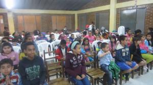 Novenas en barrio Altamar