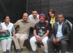 Carmen Prieto, Francisco Castañeda, Enrique Cufiño, Luis Pareja, Zolanlly Munevar, Nelson Armesto