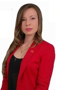 Candidata a edil por el Partido Liberal