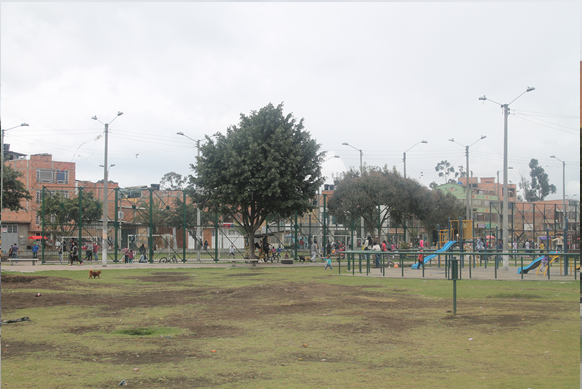 Este sector del parque está en manos de consumidores