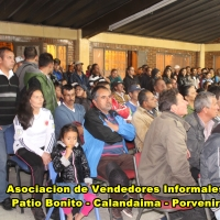 Declaración pública de vendedores informales de Patio Bonito, Calandaima y Porvenir